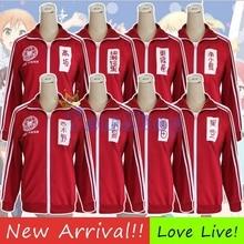 Aime Vivre! Projet didole de lécole u Cosplay veste rouge manteau Otonokizaka académie uniforme Kousaka Honoka/Minami Kotori Sportswear