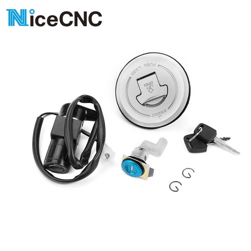 Motorcycle Ignition Switch Lock Fule Gas Tank Cap Seat Handle Locks for Honda CBR125 CBR 125 2004-2010 2009 2007 2006 2005