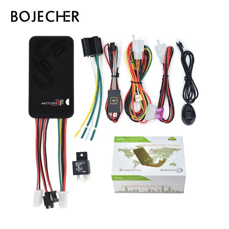 GT06 Mini rastreador GPS de coche SMS GSM GPRS, sistema de seguimiento en línea para vehículo, Monitor, alarma de Control remoto para dispositivo localizador de motocicleta