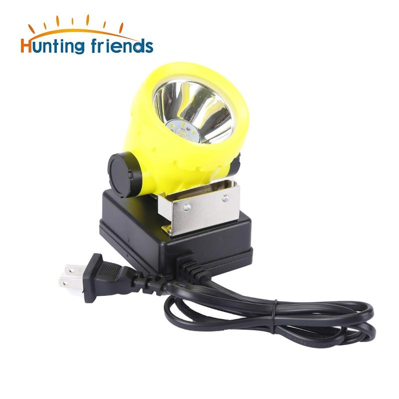 50pcs/lot Miner LED Light Mining Headlamp BK2000 Explosion Rroof Mining Light Waterproof Saftety Cap Lamp Rechargeable lamp