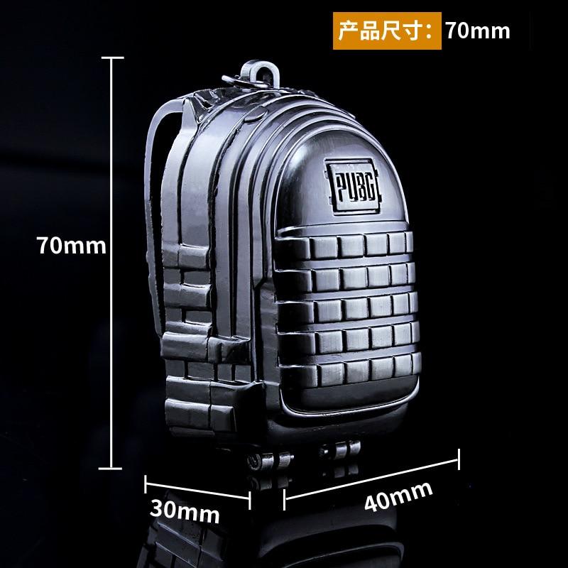 Игровой рюкзак PUBG3, модель брелока для ключей, игровые поля для игр, карнавальные костюмы, реквизит, уровень сплава