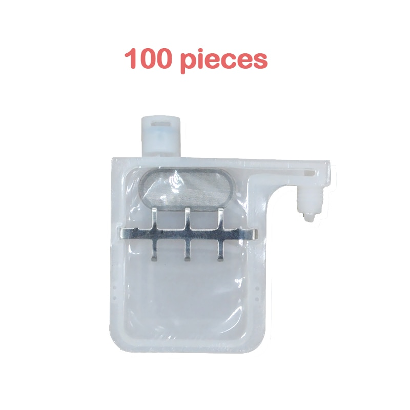100x dx4 dx5 printer print head big ink damper filter 2-3mm single row for roland mutoh printers DX4 DX5 ink filter dampers good quality 1 pcs lot dx5 two head ink pump assembly cleaning for large format printer spare part selling