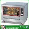 Patates douces rôties simple couche électrique/gaz rotatif horizontal électrique poulet rôti avec livraison gratuite
