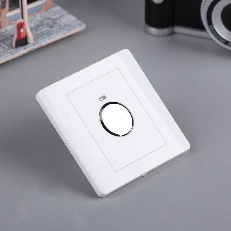 Энергосберегающий светодиодный сенсорный переключатель, 220 В, регулируемый светильник с управлением для коридора, лестницы, гаража, настенный монтаж