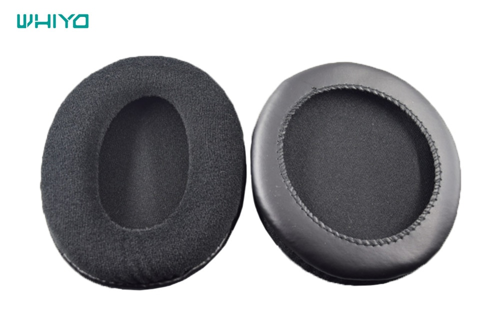 Whiyo 1 pair of Ear Pads Cushion Cover Earpads Replacement Cups for Turtle Beach Ear Force P12 Amplified Stereo Gaming Headphone