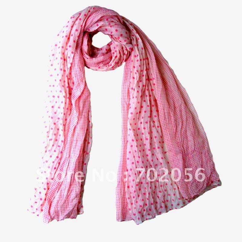 Dot voile scarves Scarf Neck scarves scarf wraps shawls 180*110cm 12pc/lot #2110