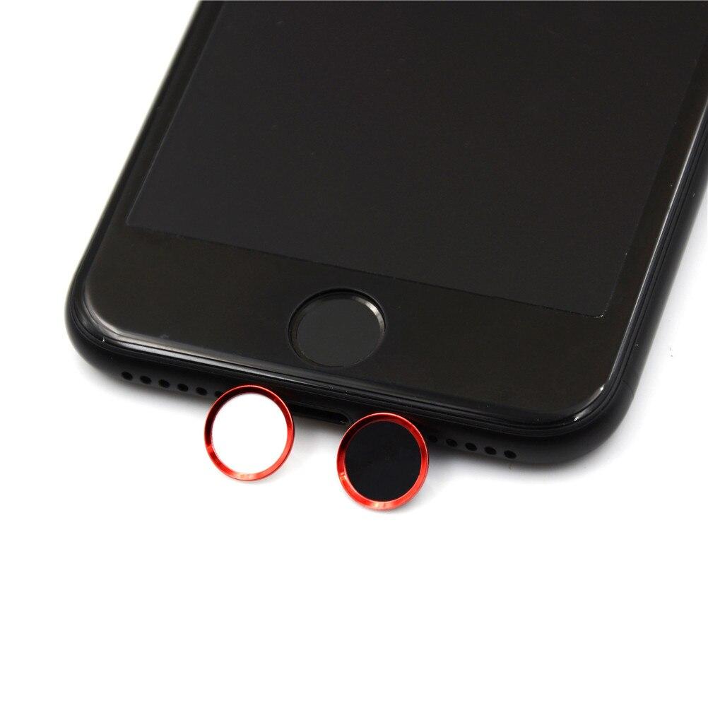 ID Botão Home Adesivo de Alumínio Toque Do Telefone Da Apple Adesivos com Impressão Digital 5S de identificação para o iPhone 5 SE 4 6 6 s 7 Mais iPad