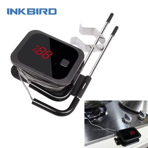 Inkbird IBT-2X  Double Probes BBQ Thermometer Food Cooking Bluetooth Wireless Meat Thermometer with Timer for Oven Grilling Temp