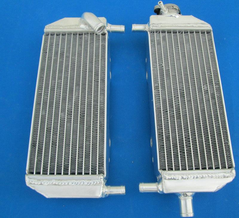 Radiador de aluminio de alta calidad para SUZUKI 2001-2008 RM250 RM 250 2001 2002 2003 2004 2005 2006 2007 2008 piezas de carreras