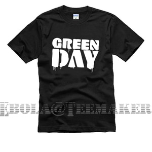 2020  free shipping Greenday green day printing letters couple clothes sitcom men male man short-sleeve T-shirt