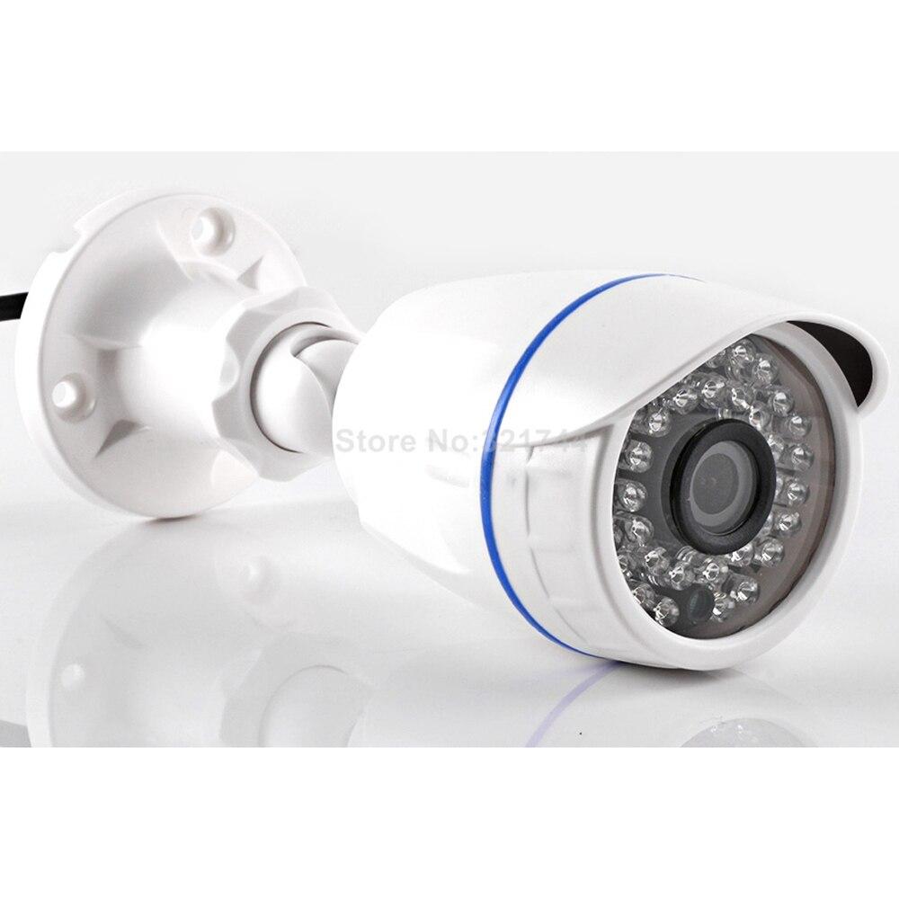 HD 720P HD 1080P CCTV IP bala Cámara impermeable al aire libre de la visión nocturna de la lente de 3,6mm de seguridad cámara de vigilancia vmeyesuper de POE opcional