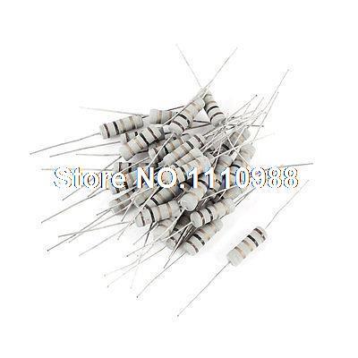 30x3 Watt 1 Ohm 5% Elektronische Axialzuleitung Metalloxidfilm Widerstand