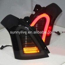 Dla SUZUKI Swift tylna lampa LED smoke 2006-2010