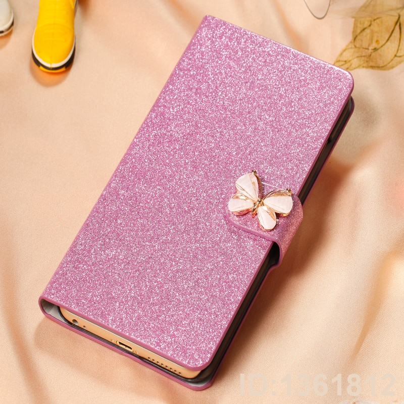 Phone Case For Meizu Note 9 Fashion Flip PU Leather Stand Card Holder Cover For Meizu Note 9 Back Co