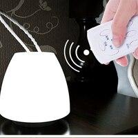 LED Remote controller Mushroom Night lighting/Sleeping Soother Kids Baby Bedside Handeheld Lamp Lighting!