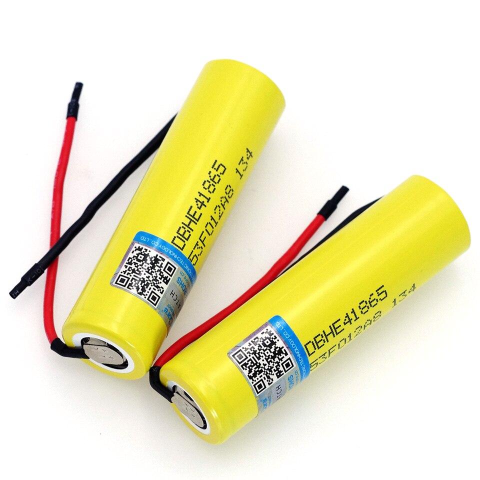 1-10 Uds VariCore Original para LG 18650 he4 de batería de 3,6 V 2500mAh 20A 35A alto drenaje HE4 18650 herramientas eléctricas de batería cable DIY