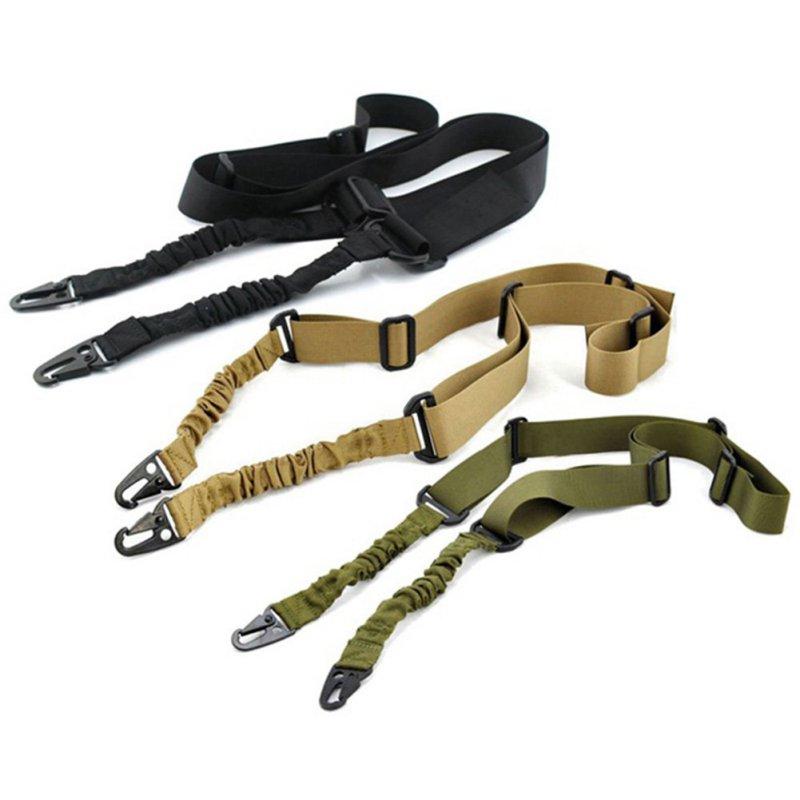 Nylon Einstellbare Multi-funktion Zwei Punkt Tactical Rifle Sling Jagd Gun Band Im Freien Airsoft Montieren Bungee System Kit CY1