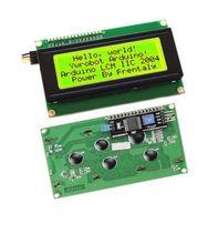 Affichage jaune IIC I2C TWI SP I Interface série 2004 Module LCD 20X4 caractères