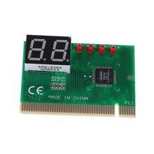 2 Digit PCI Post Card Lcd-scherm PC Analyzer Diagnostic Card Moederbord Tester Computer Analyze Netwerken