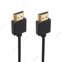 Внешний диаметр 3,0 мм, супермягкий тонкий Micro HDMI совместимый штекер HDMI и мини HDMI совместимый кабель 2k 4k hd @ 60 Гц светильник портативный