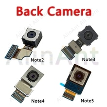Caméra arrière dorigine pour Samsung Galaxy Note 2 3 4 5 N7100 N900 N9005 N910F N910C N920 principal grand câble flexible de caméra arrière