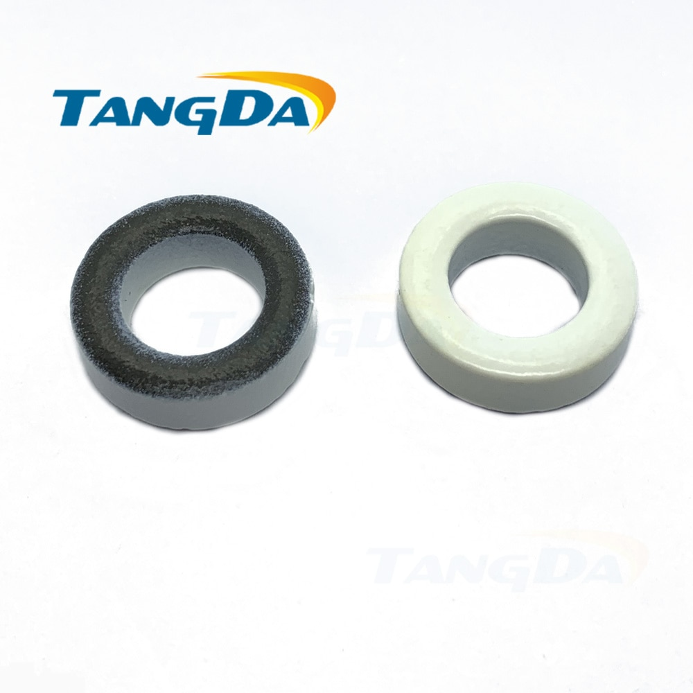 T80-7 الحديد مسحوق النوى T80-7 OD * ID * HT 20.2*12.6*6.4mm 5nH/ n2 9uo الحديد الغبار الأساسية الفريت حلقي حلقية الأساسية الأبيض رمادي AG