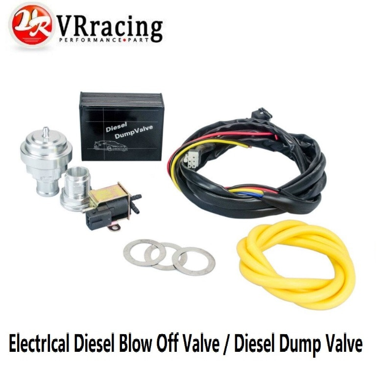 VR - Universal Electrical Turbo Diesel Dump Valve Vacuum Blow Off Valve Bov Kit For VW AUDI 1.9 2.0 TDI VR5011