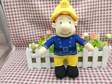 Fireman Sam Figure Plush Large Doll Fireman gift new 24cm