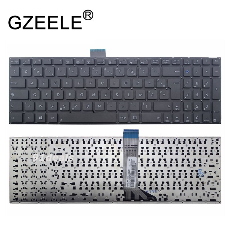 Французская клавиатура GZEELE FR для Asus X554L X554LA X554LD X554 X554LJ X554LN X554LP W519L A555 K555l Black FR AZERTY