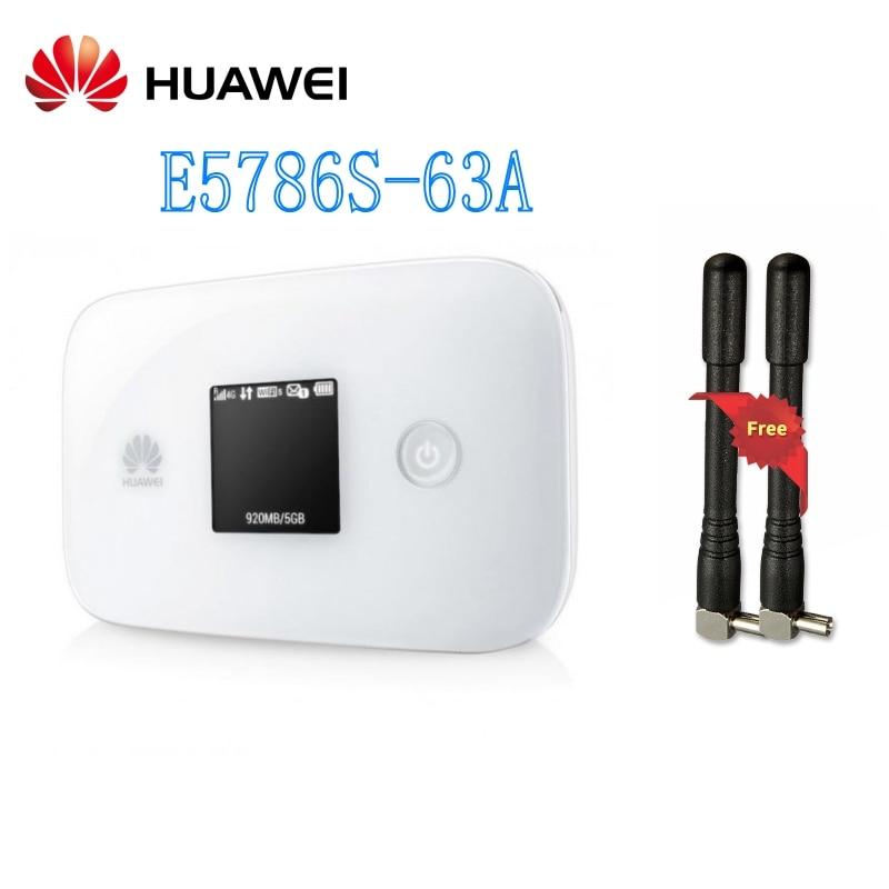 Router inalámbrico portátil con antena HUAWEI E5786 E5786s-63a 300Mbps 4G LTE CAT6 Original liberado
