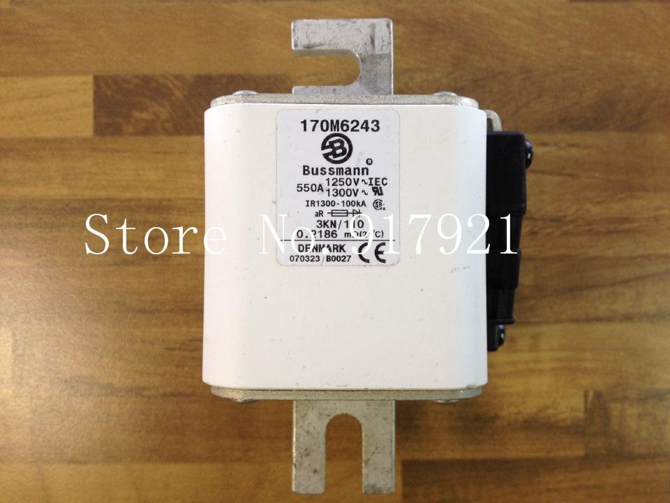 [ZOB] fusible original auténtico de los Estados Unidos Bussmann 170M6243 550A 1250V