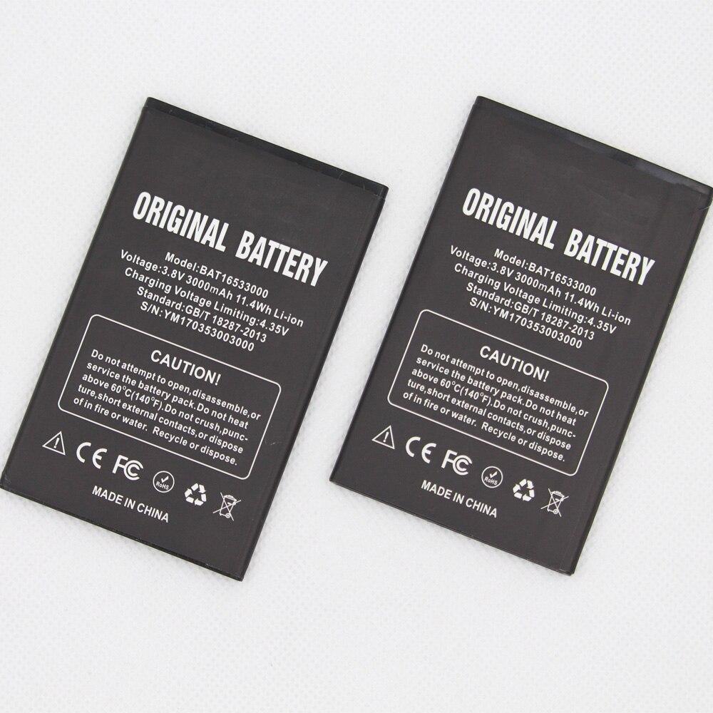 2 unids/lote ISUNOO 3000mAh BAT16533000 batería para DOOGEE X9 X9S 5,5 pulgadas baterías de teléfono