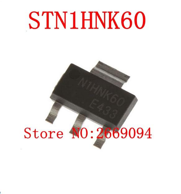10 piezas/50 piezas STN1HNK60 N1HNK60 MOSFET N-CH 600 V 400MA SOT223