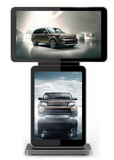 شاشة LCD عالية الدقة IPS مقاس 42 و 46 و 47 بوصة تعمل باللمس وشاشة عرض تفاعلية لعرض Deaktop الرقمي ad