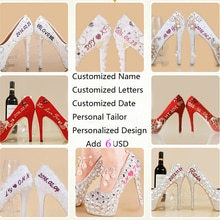 Custom Big size Customize Heels Height Custom letters on shoes or shipping fee , DHL ,UPS,FEDEX,EMS