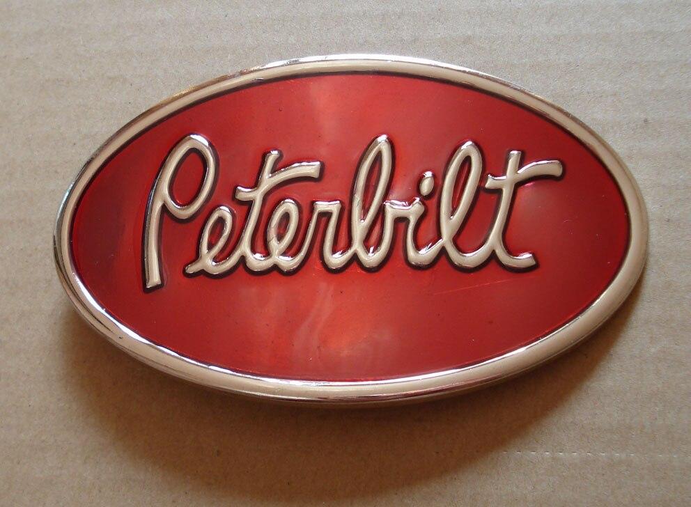 Hebilla de cinturón apropiado para camión ovalado Peterbilt para cinturón de 4cm de ancho