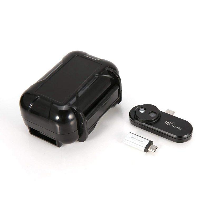 Мобильный телефон инфракрасный Термальность Imager внешний инфракрасный Камера термометр Android OTG Функция адаптер HT-102 Термальность обнаружения
