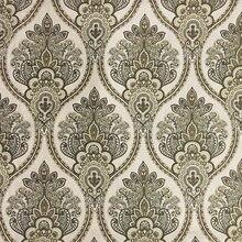 Luxe Beige foncé Jacquard Chenille Villas hôtel maison décorative canapé rideau tapisserie dameublement draperie tissu 280cm vendre par paquet