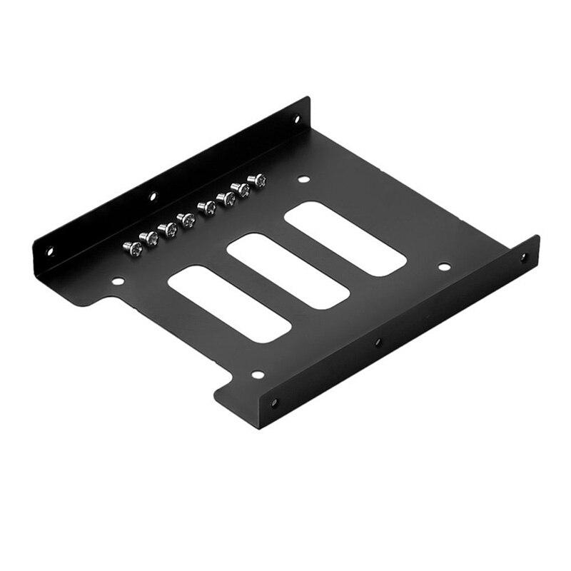 """Nworld 10 шт./лот металлический 2,5 """"до 3,5"""" SSD HDD жесткий диск кронштейн адаптер конвертер держатель жесткого диска корпус"""