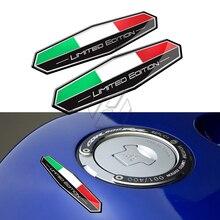 Motorrad Aufkleber Italien Flagge Aufkleber Italia Limited Edition Aufkleber Fall für Aprilia Ducati 1098 1199 1299 Panigale Triumph 675R