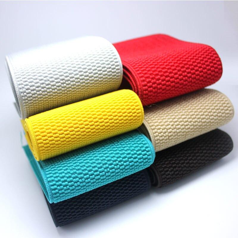 Bandas elásticas largas de 7.5 cm de grãos de milho/acessórios de costura/elástico/elástico