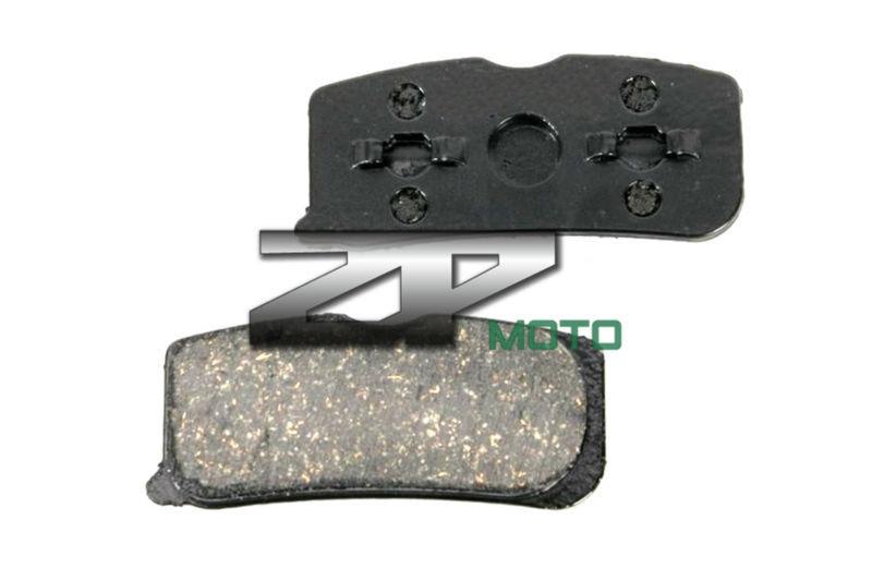 Pastillas de freno NAO para BRP CAN-AM Spyder RS Phantom Black 2009 09 frontal OEM nueva alta calidad