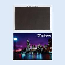 Australia_Melbourne_sunset aimants pour réfrigérateur 22028, cadeau touristique pour les amis, souvenirs parfaits pour lattraction mondiale