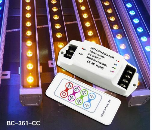 BC-361-350/700ma 3CH controlador de corriente constante multifunción RGB controlador remoto RF LED RGB cotoller DC12V-DC48V controlador LED