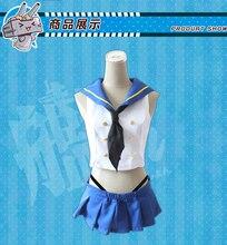 Аниме Kantai коллекция Shimakaze униформа косплей костюм Бесплатная доставка