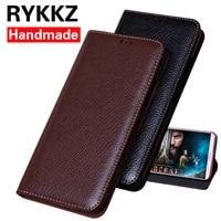 rykkz luxury leather flip cover for doogee x60l mobile stand case for doogee x60l leather phone case cover for doogee x60l case
