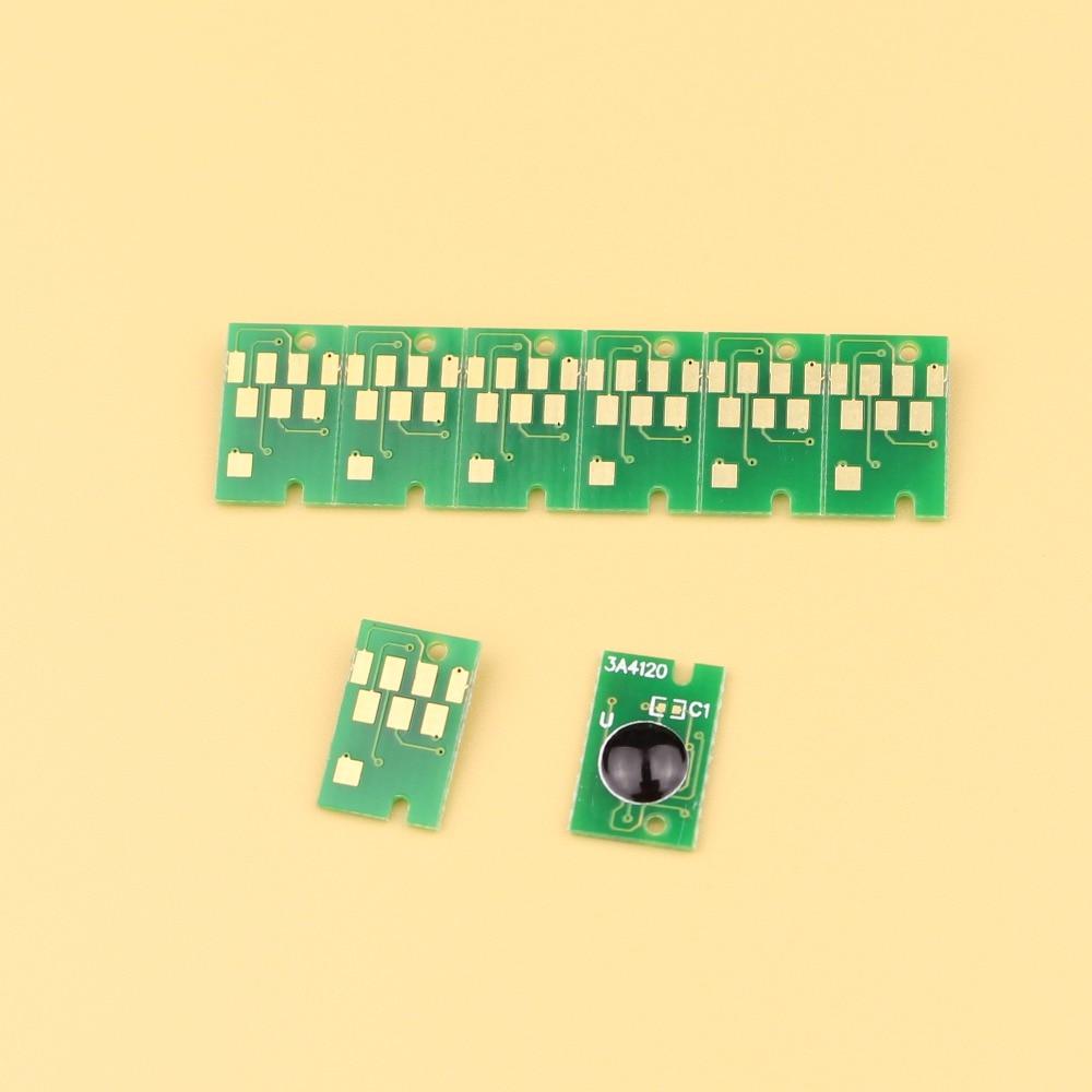 20 uds/lote T6997 chips de tanque de mantenimiento para Epson SureColor P6000 P7000 P8000 P9000 chips de tanque de tinta de desecho