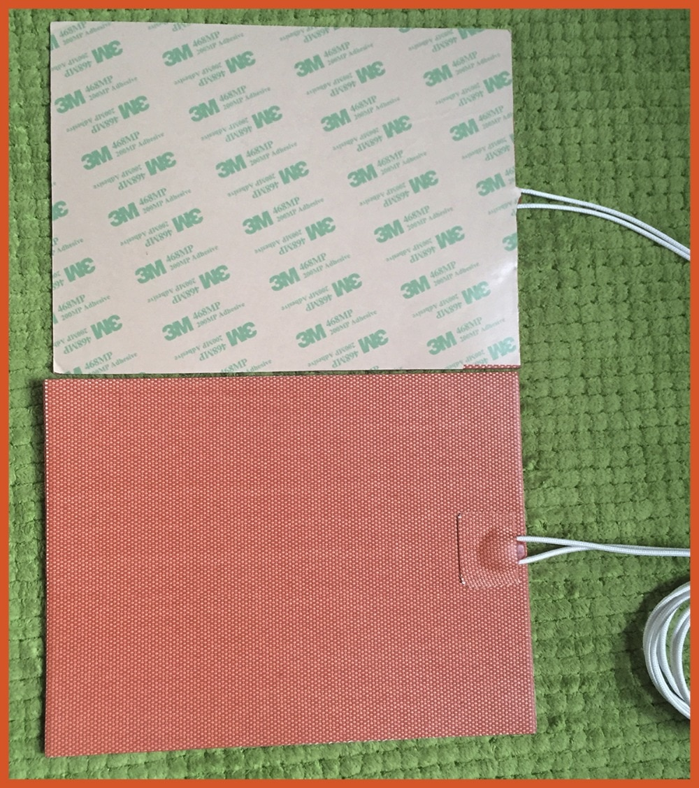 Stampante 3d letto riscaldato alluminio riscaldata bed 220x170m 220v 500w industrial heater silicone heater pad heated bed plate