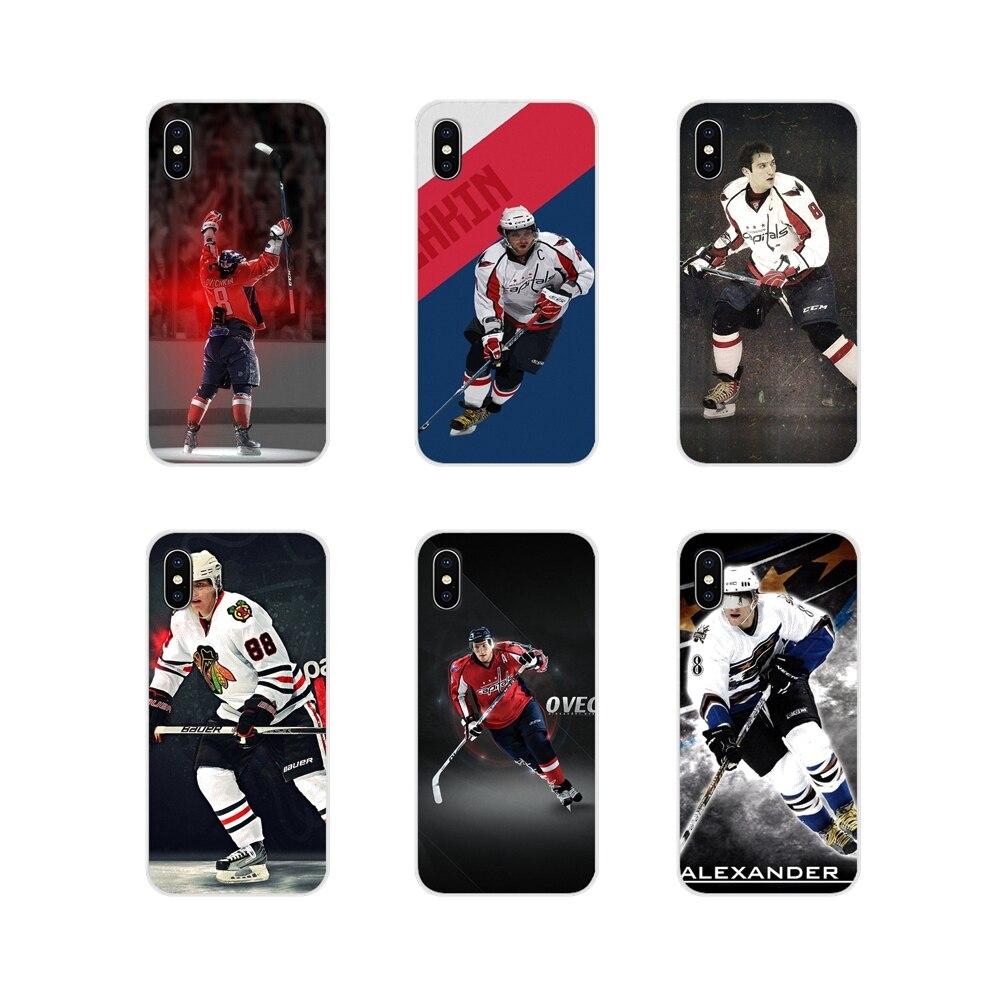 Telefon komórkowy torba Case aleksandr owieczkin Nhl gwiazda hokej dla Nokia 2 3 5 6 8 9 230 3310 2.1 3.1 5.1 7 Plus dla LG Q6 7 8 9 X mocy