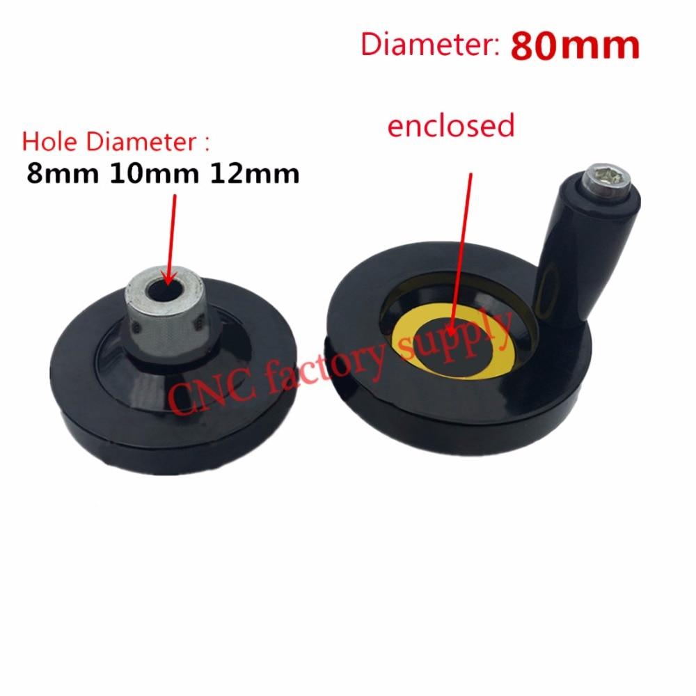 Горячая продажа 5 шт. CNC 3D принтер T8 свинцовый винт T12 T10 трапециевидный свинцовый винт диаметр отверстия 8 мм 10 мм 12 мм диаметр ручного колеса ...